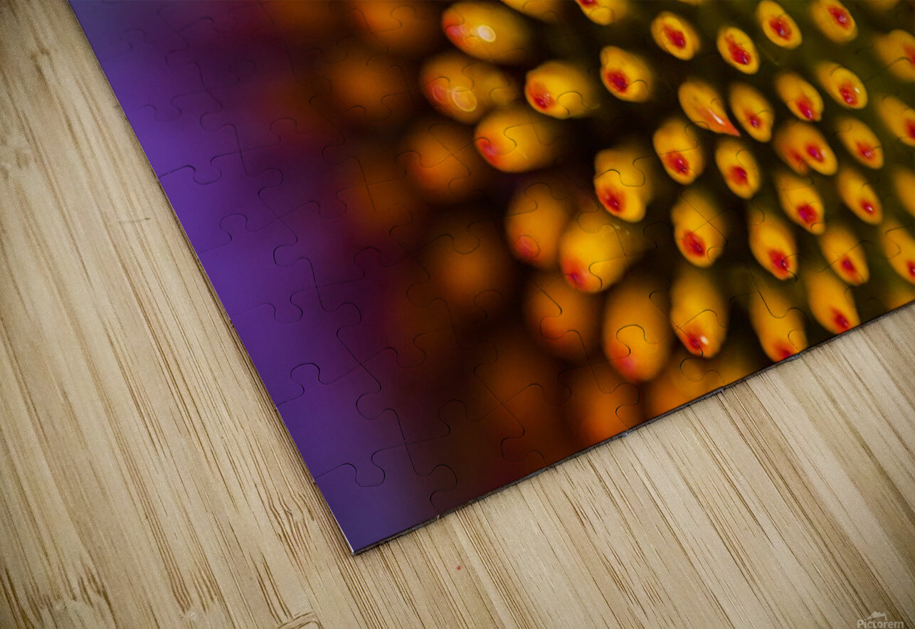 Flower Abstract HD Sublimation Metal print