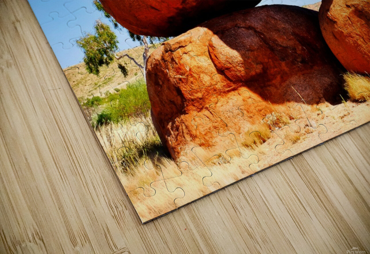 Balance - Devils Marbles HD Sublimation Metal print