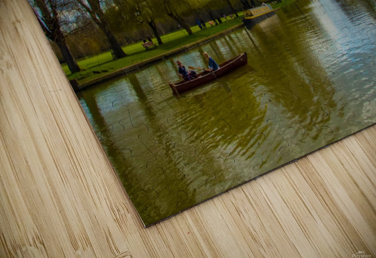 Stratford-Upon-Avon River HD Sublimation Metal print