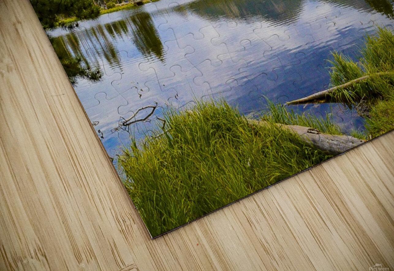 Sprague Lake HD Sublimation Metal print