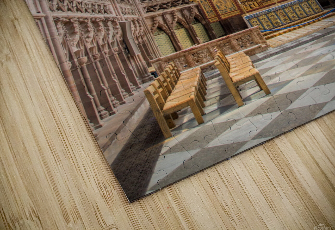 Litchfield Cathedral HD Sublimation Metal print