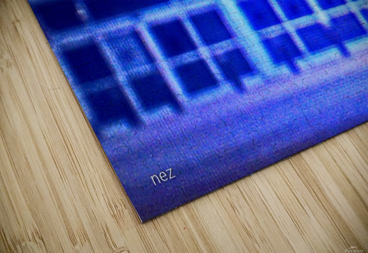 Neon HD Sublimation Metal print
