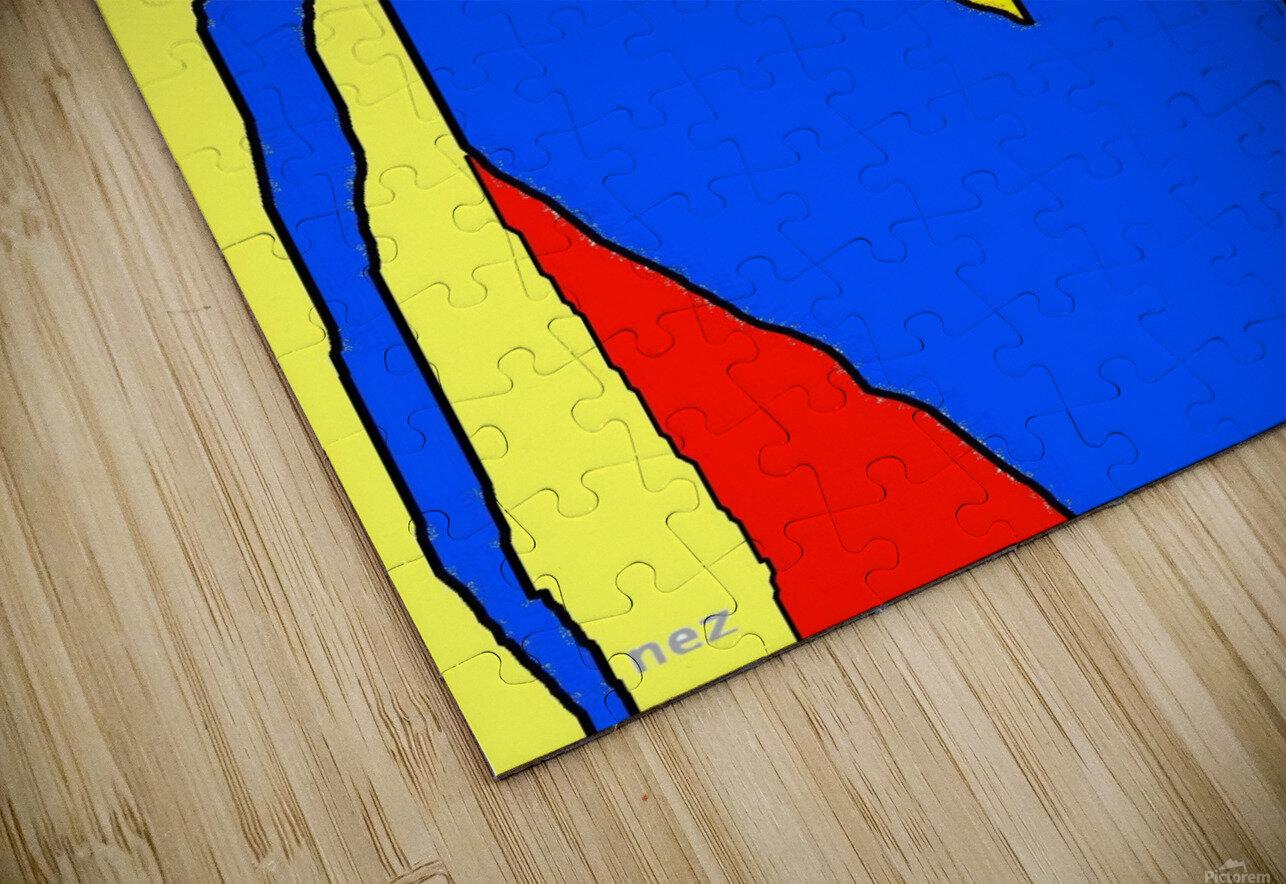 Superman Lite HD Sublimation Metal print
