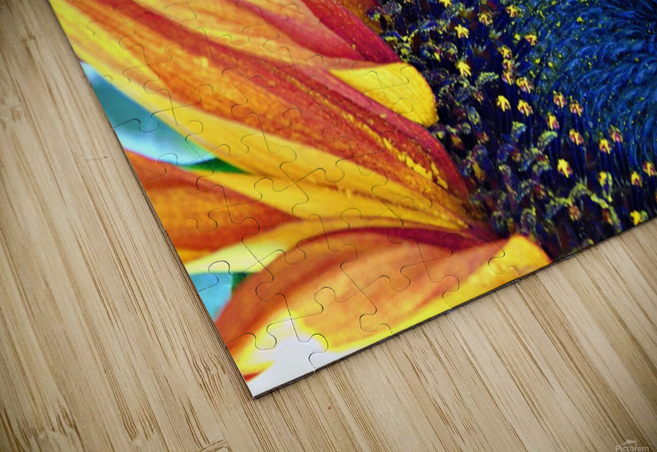 bee happy HD Sublimation Metal print