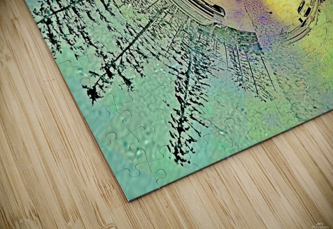 abstract baby moose  HD Sublimation Metal print