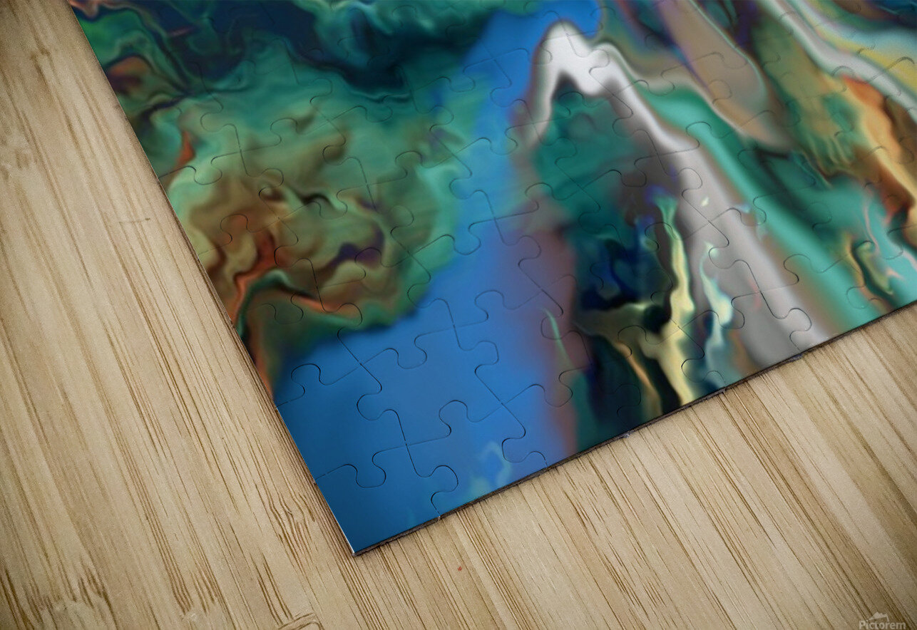 Color Galaxy 20 HD Sublimation Metal print