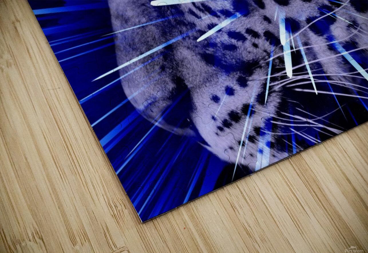 Leopard pop 4  HD Sublimation Metal print