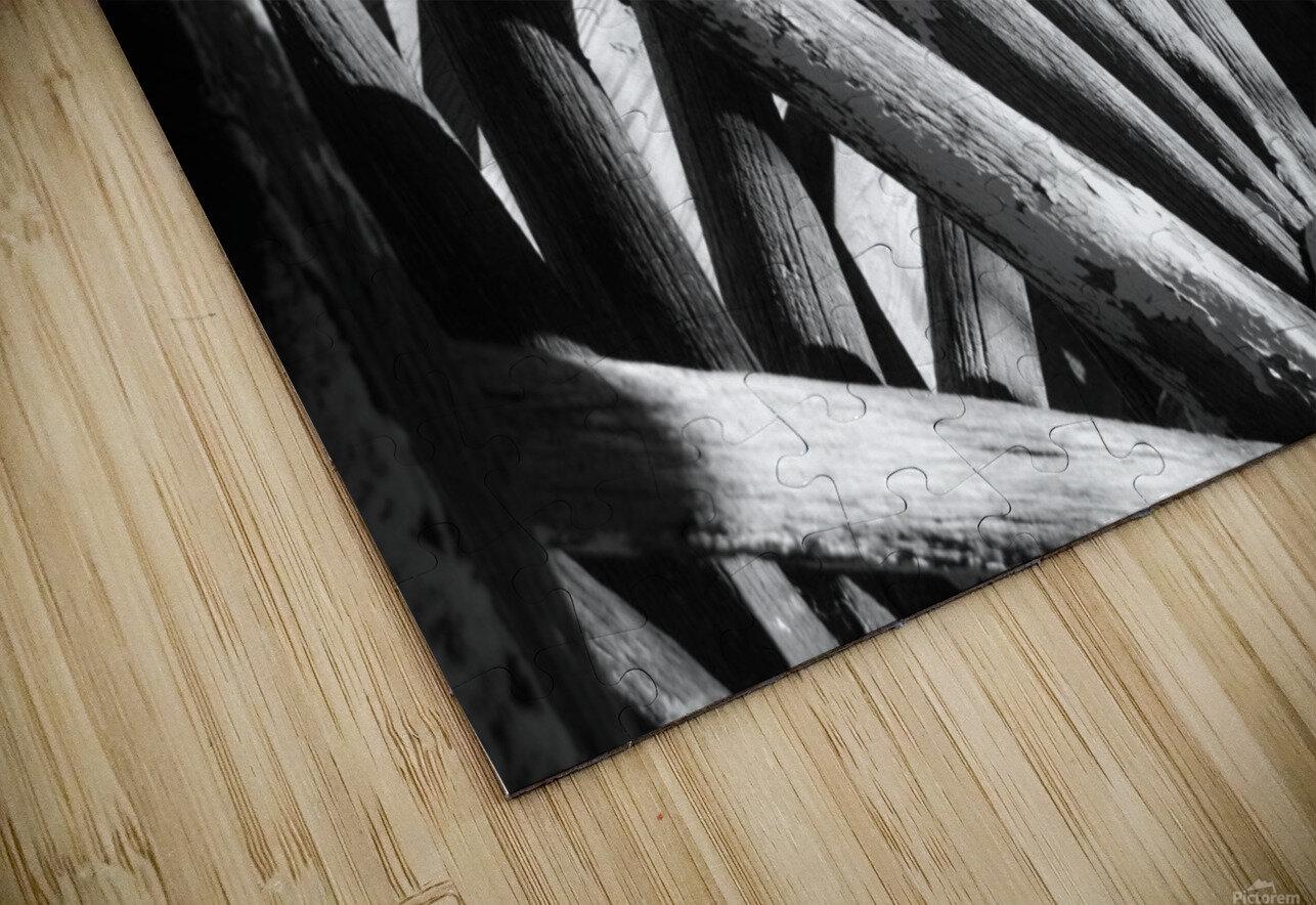 Wagon Wheels.01 HD Sublimation Metal print