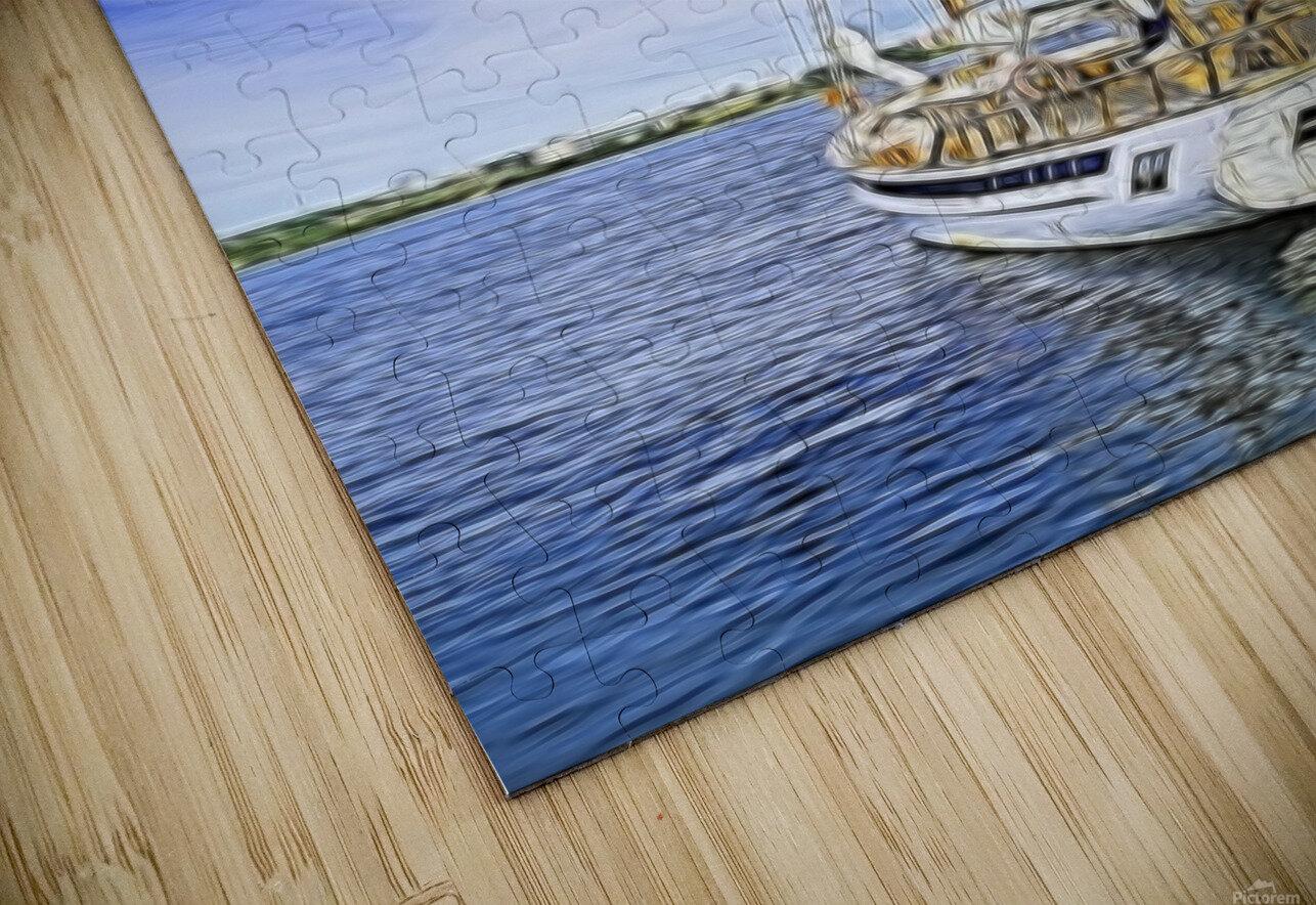 Mar Sailboat in Halifax HD Sublimation Metal print