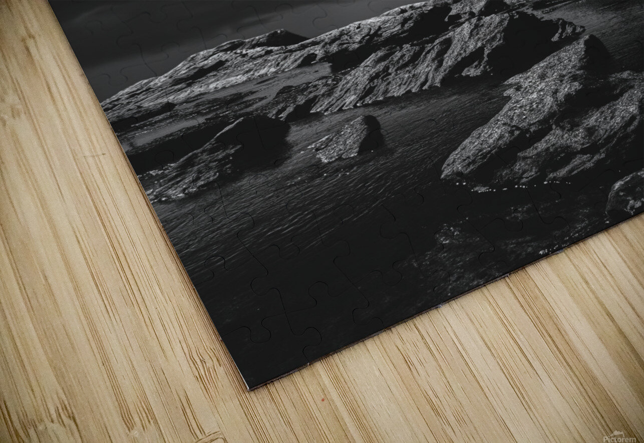 Above The Falls HD Sublimation Metal print