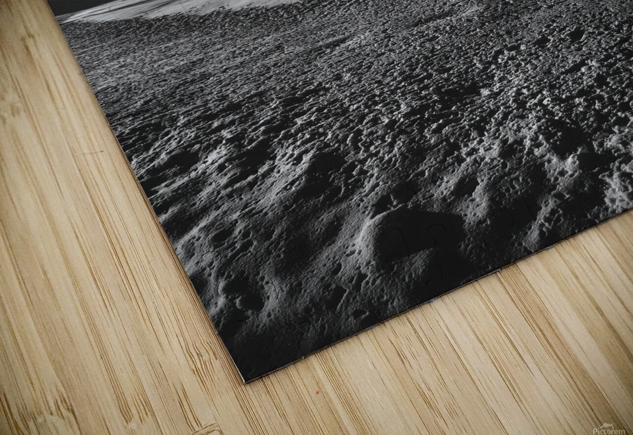 Night Shapes HD Sublimation Metal print