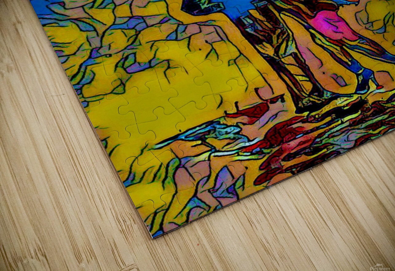 abstract love HD Sublimation Metal print