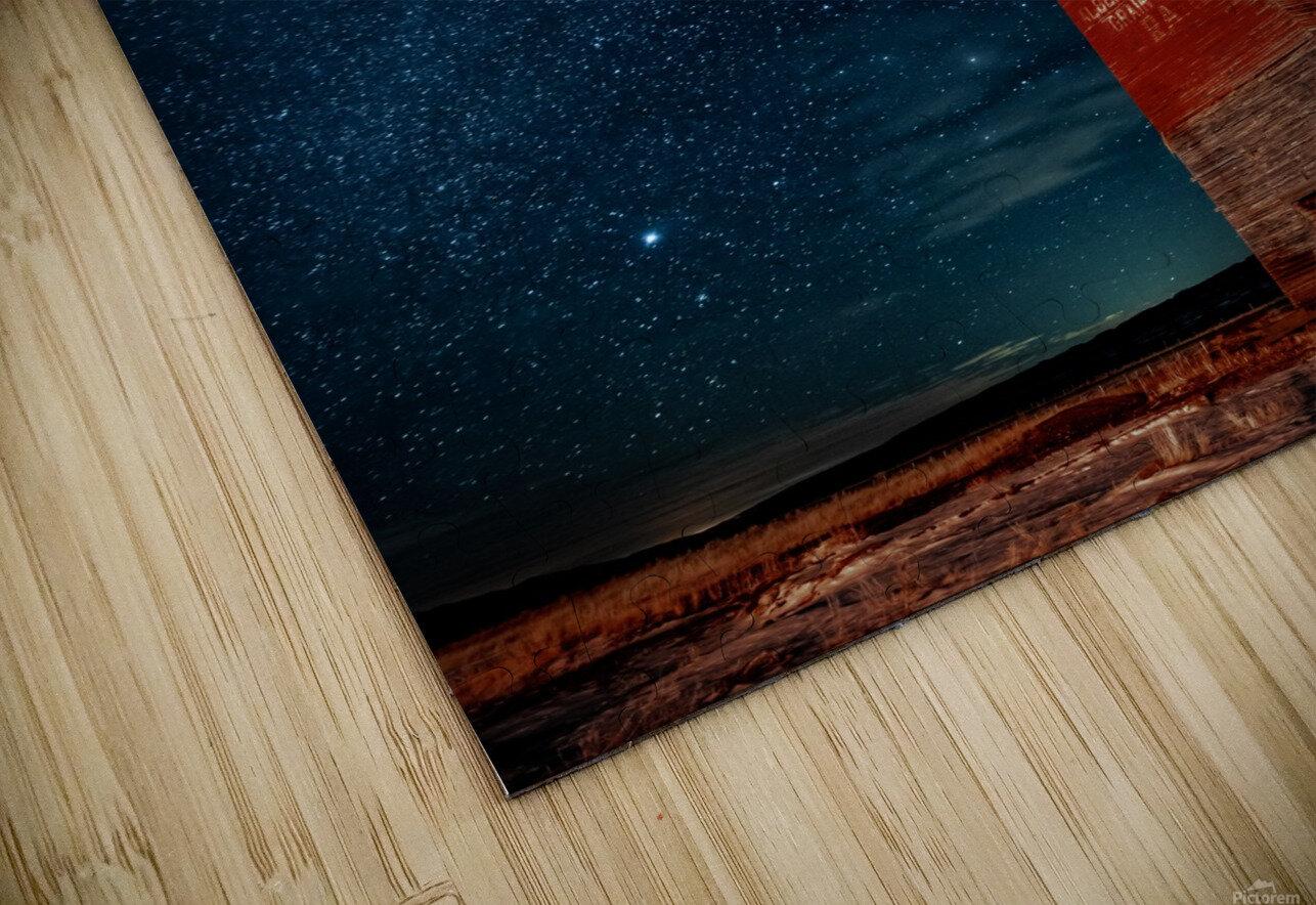Dorothy Elevator Milky Way HD Sublimation Metal print