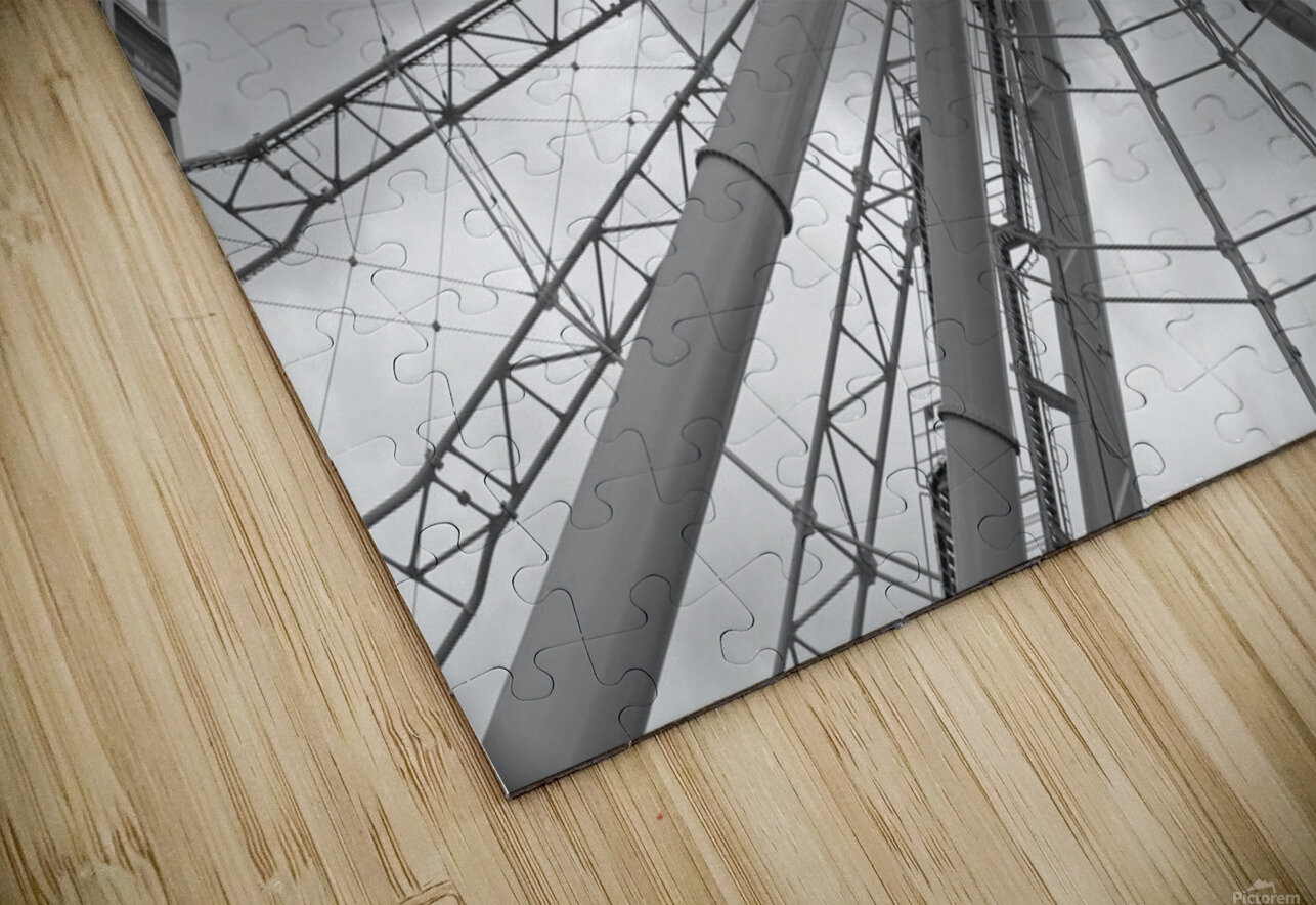 Height B&W HD Sublimation Metal print