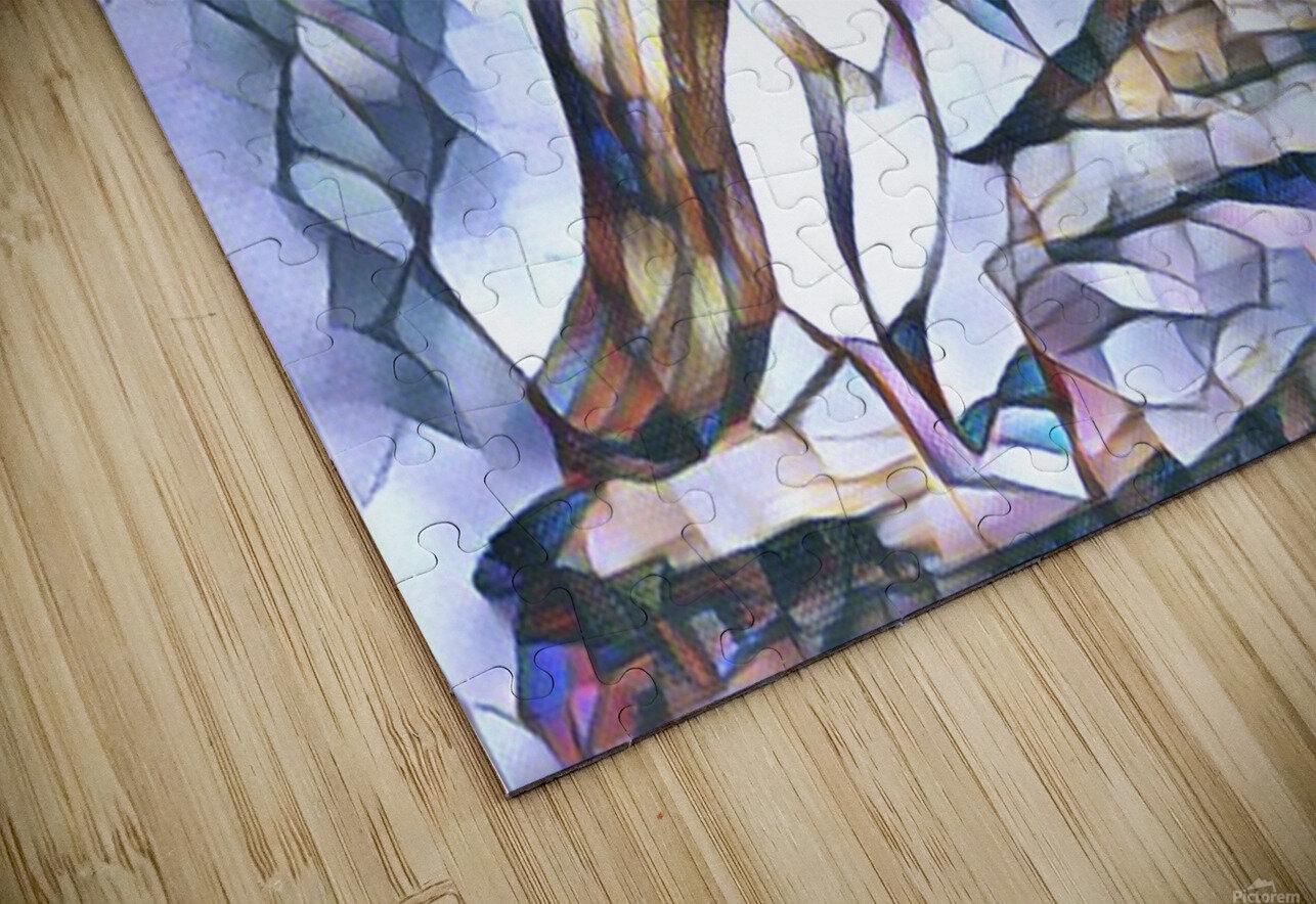 Le macareux  HD Sublimation Metal print