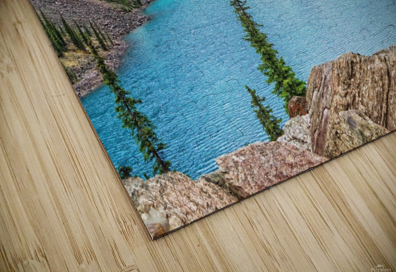 Moraine Lake in Banff National Park BC HD Sublimation Metal print