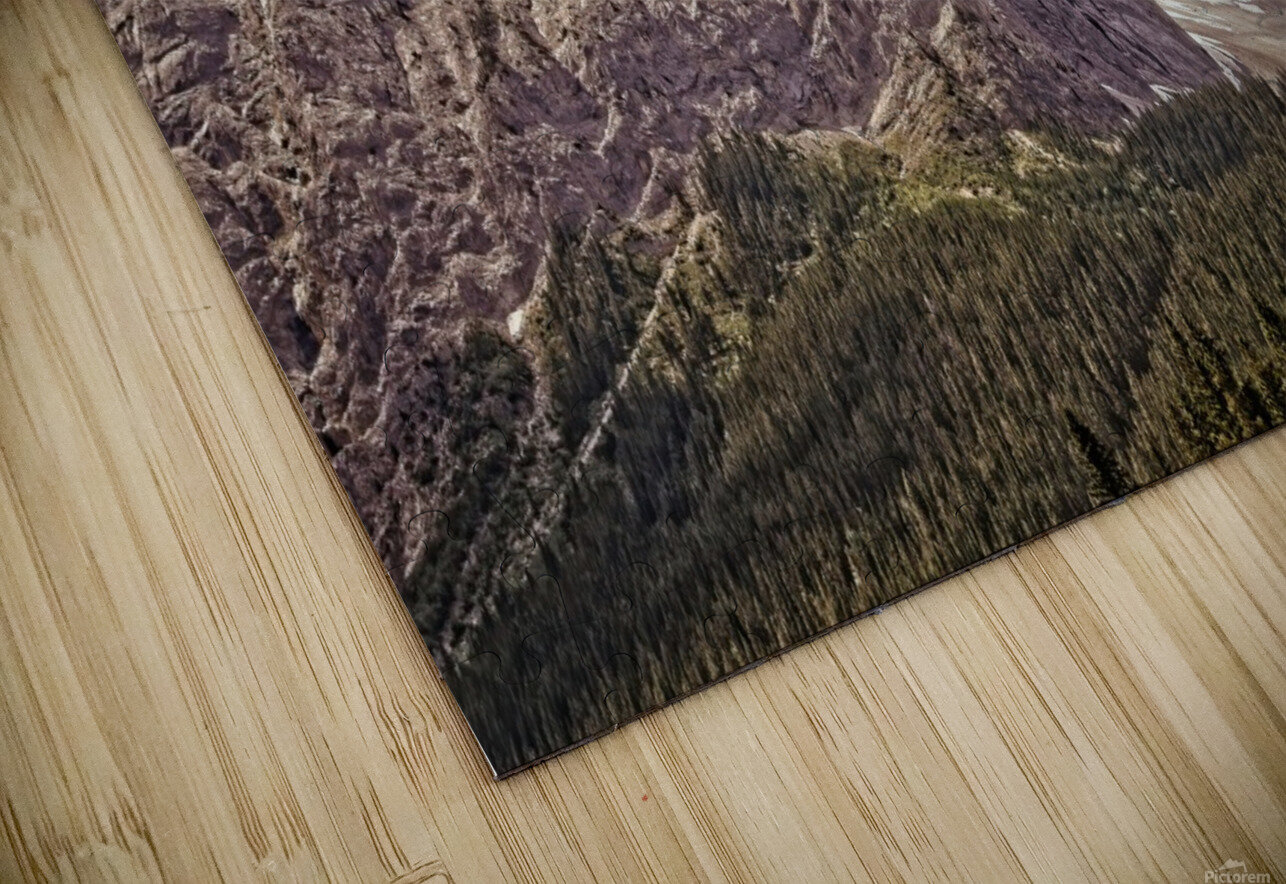 Cascade Mountain in Banff National Park BC HD Sublimation Metal print