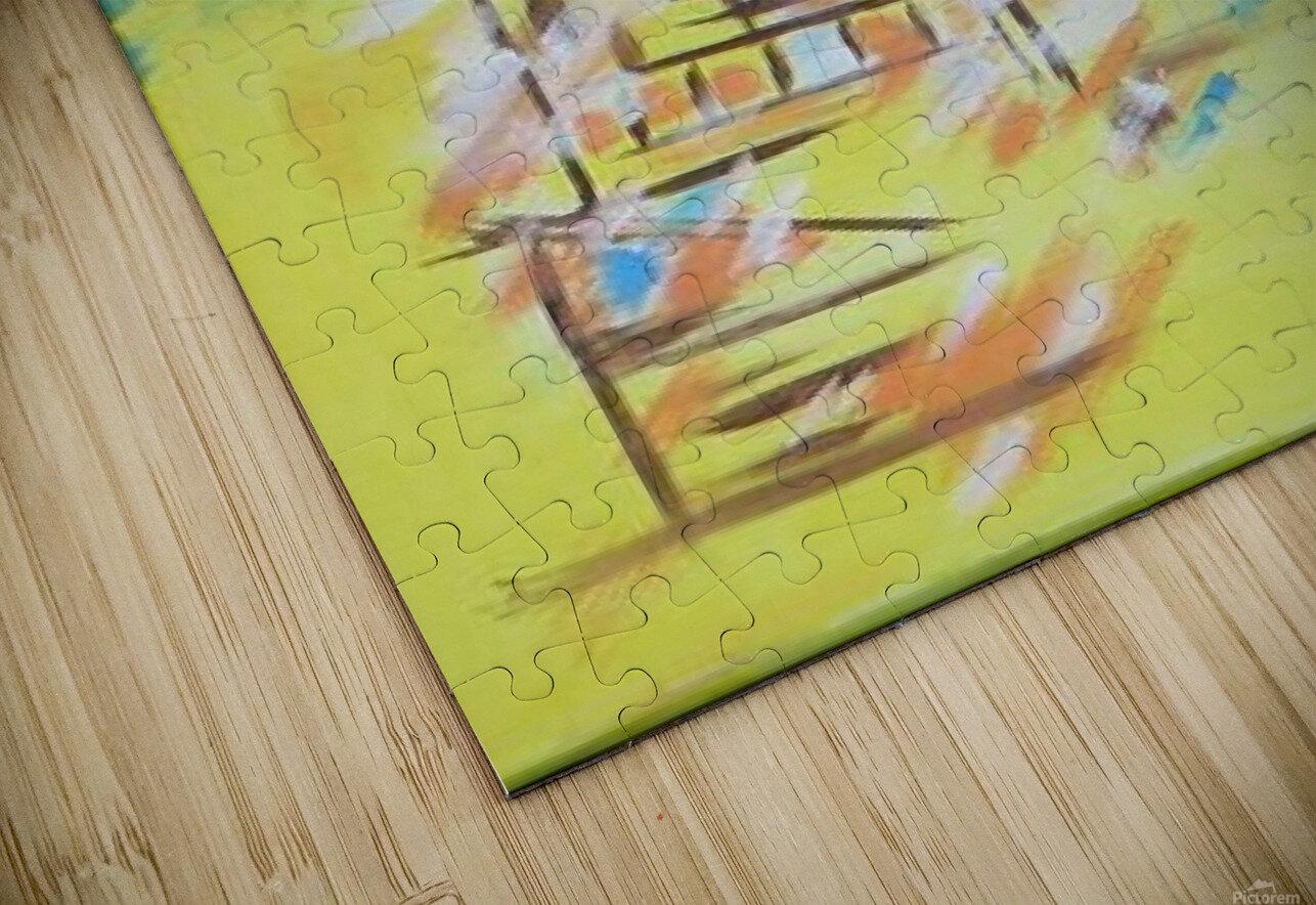 Ahson_Qazi_Geometrical_Islamic abstract artahson_qaziShades_of_DivinityIslamic_Artstretched canvass 12x16 HD Sublimation Metal print