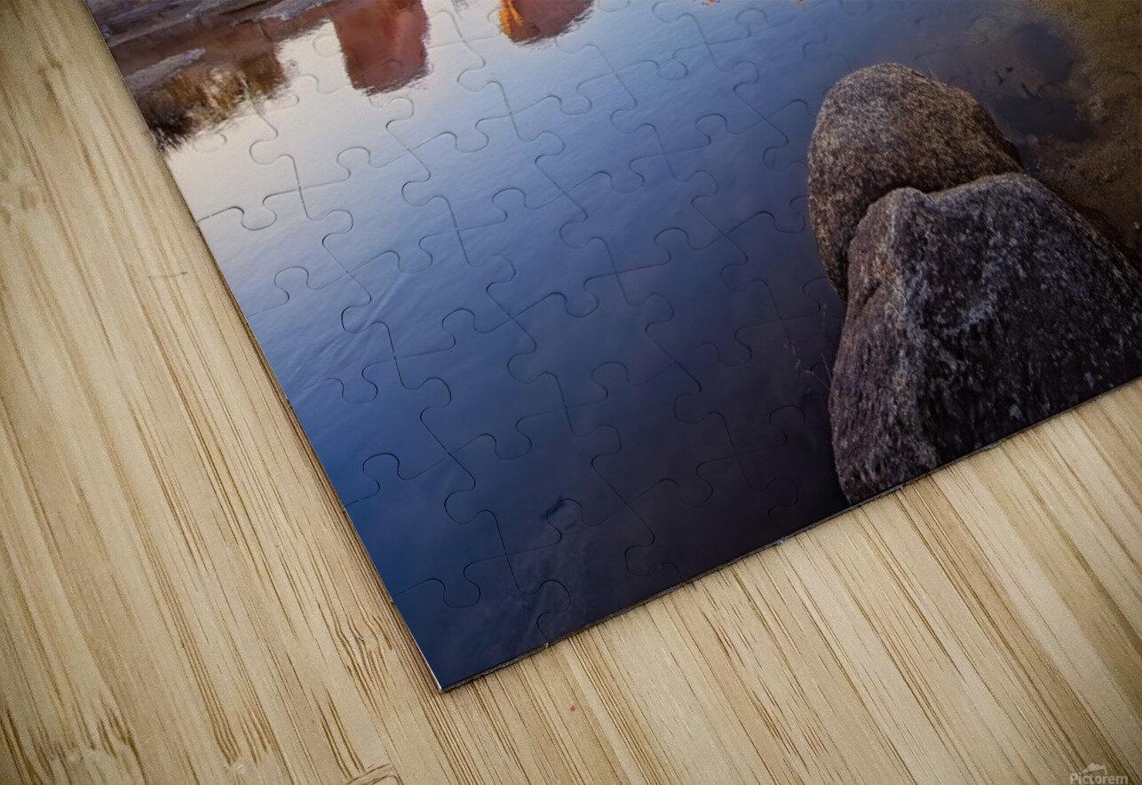 Barker Dam at Sunset HD Sublimation Metal print