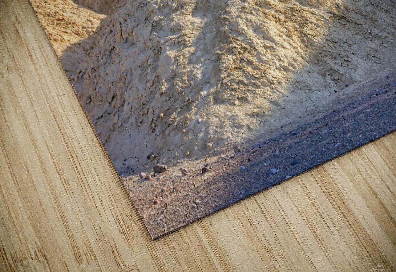 Badlands of Death Valley HD Sublimation Metal print
