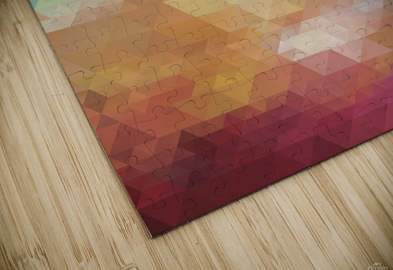 Abstract Composition 550 HD Sublimation Metal print
