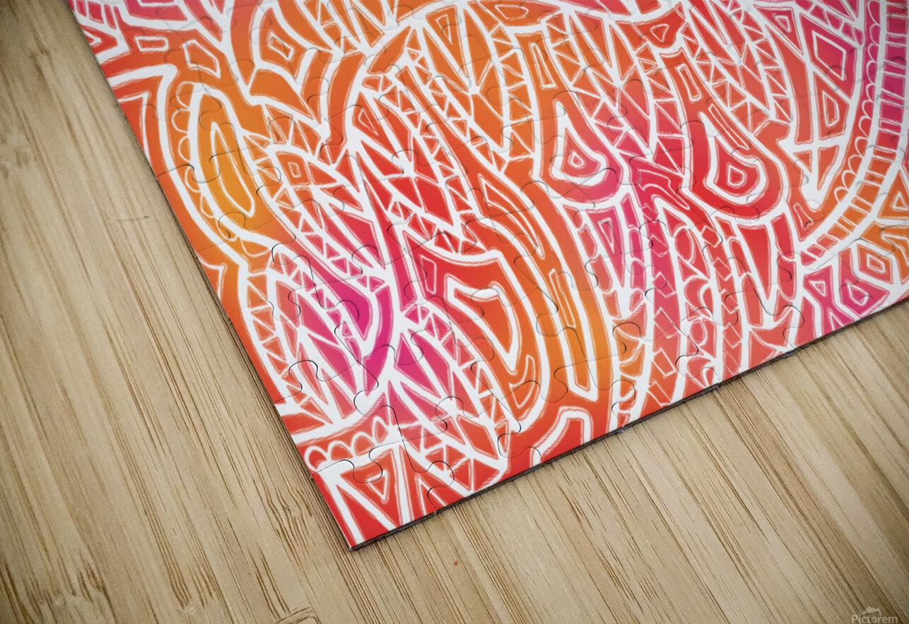 Tropical Reverie  HD Sublimation Metal print