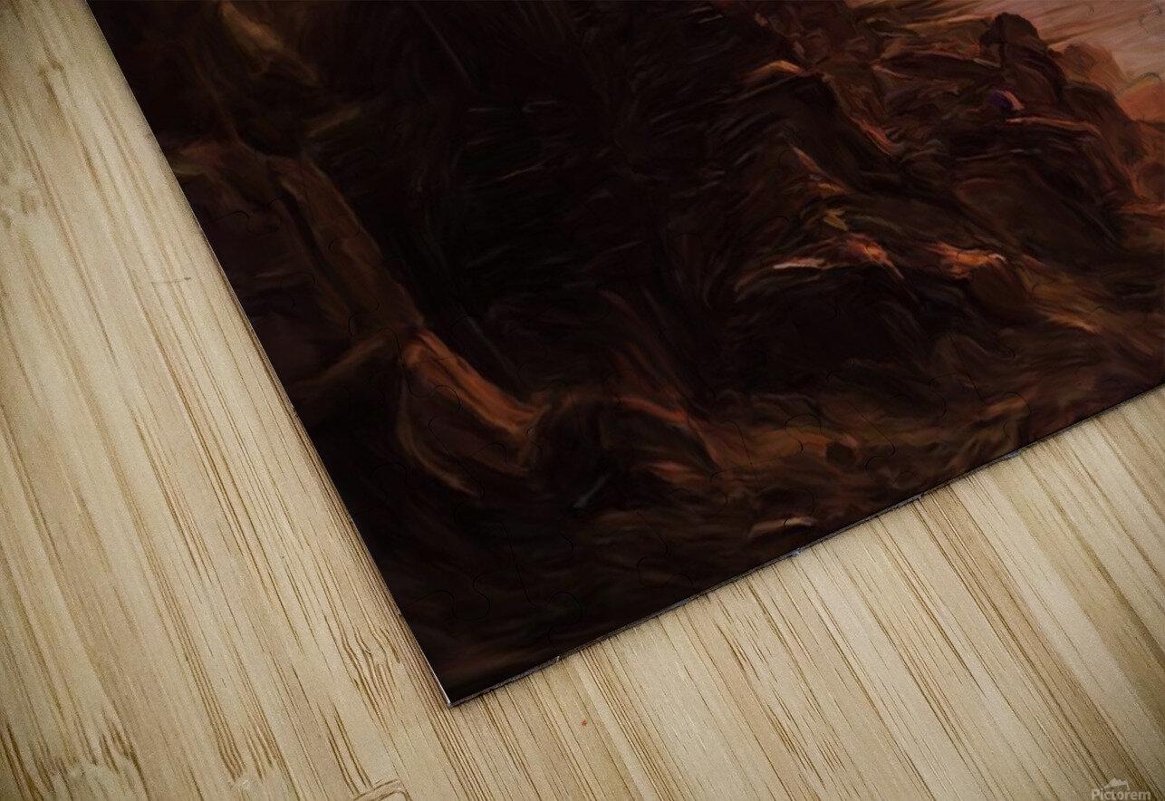 Lonesome Plains HD Sublimation Metal print