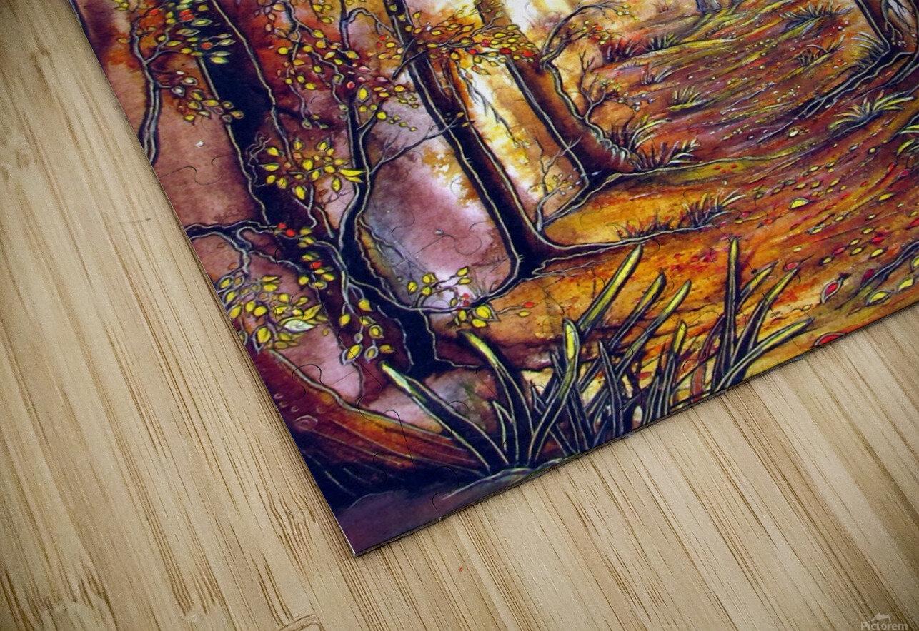 Autumn Memories HD Sublimation Metal print