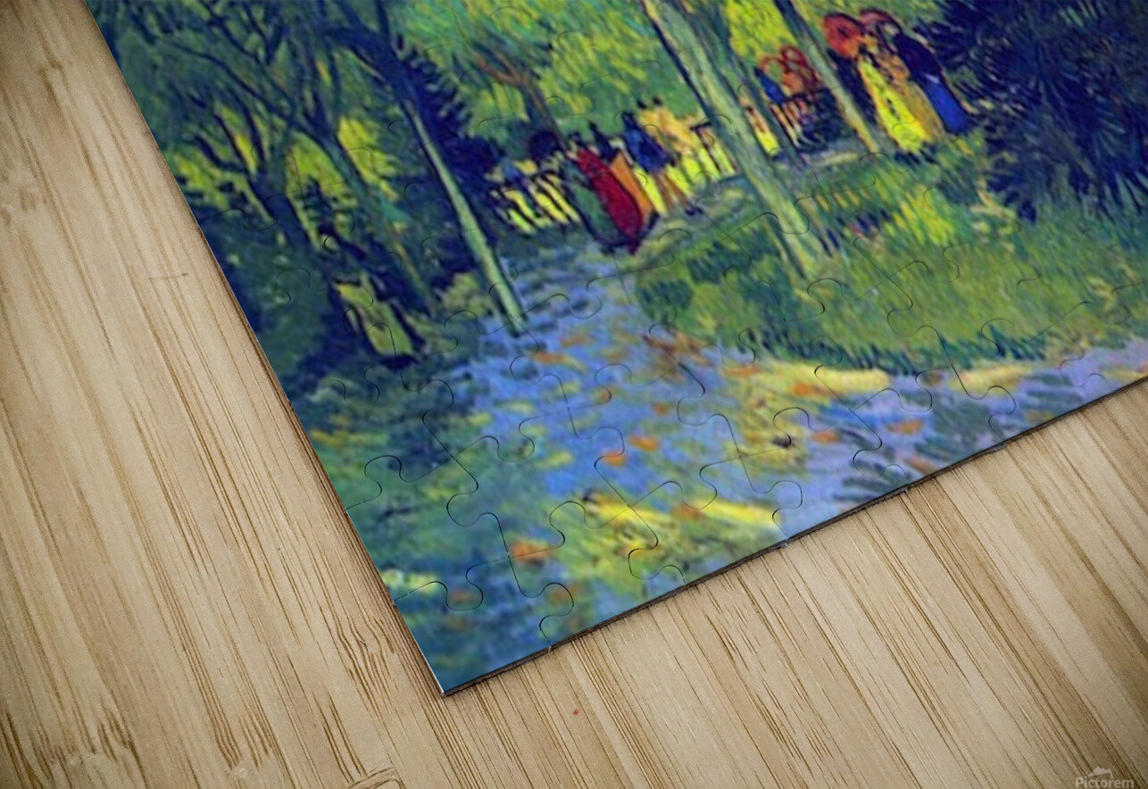 Allee in the Park by Van Gogh HD Sublimation Metal print