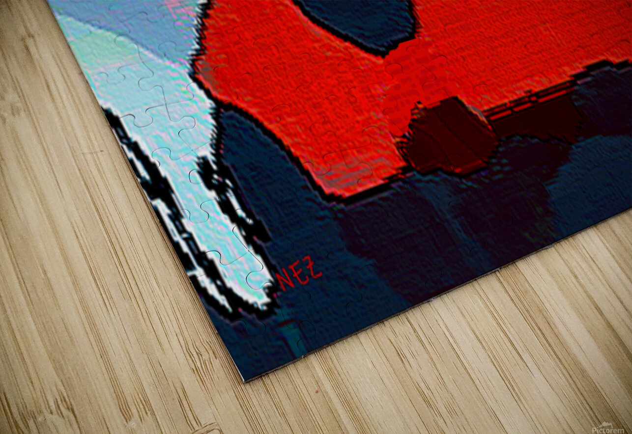 Red Nose HD Sublimation Metal print