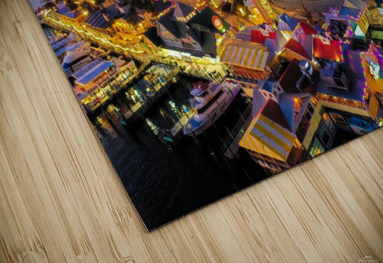 Em Grand Cristmas HD Sublimation Metal print