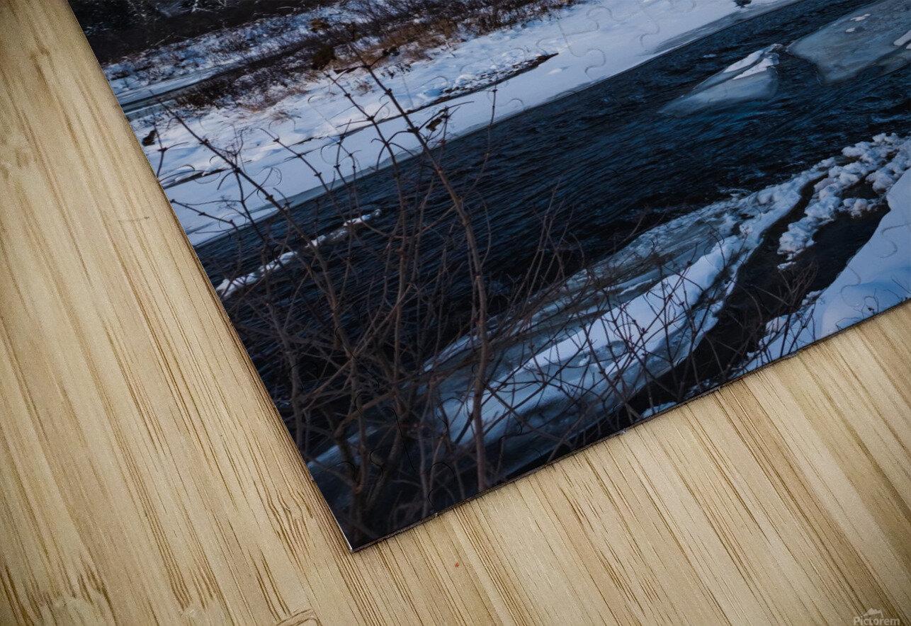 Blue freeze HD Sublimation Metal print