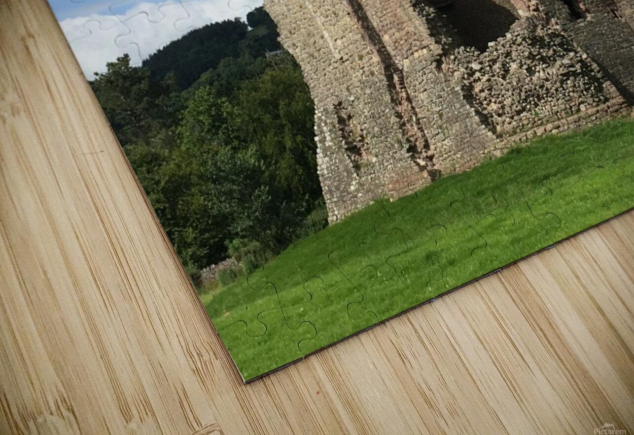 Treetower-Castle-Wales-1 HD Sublimation Metal print