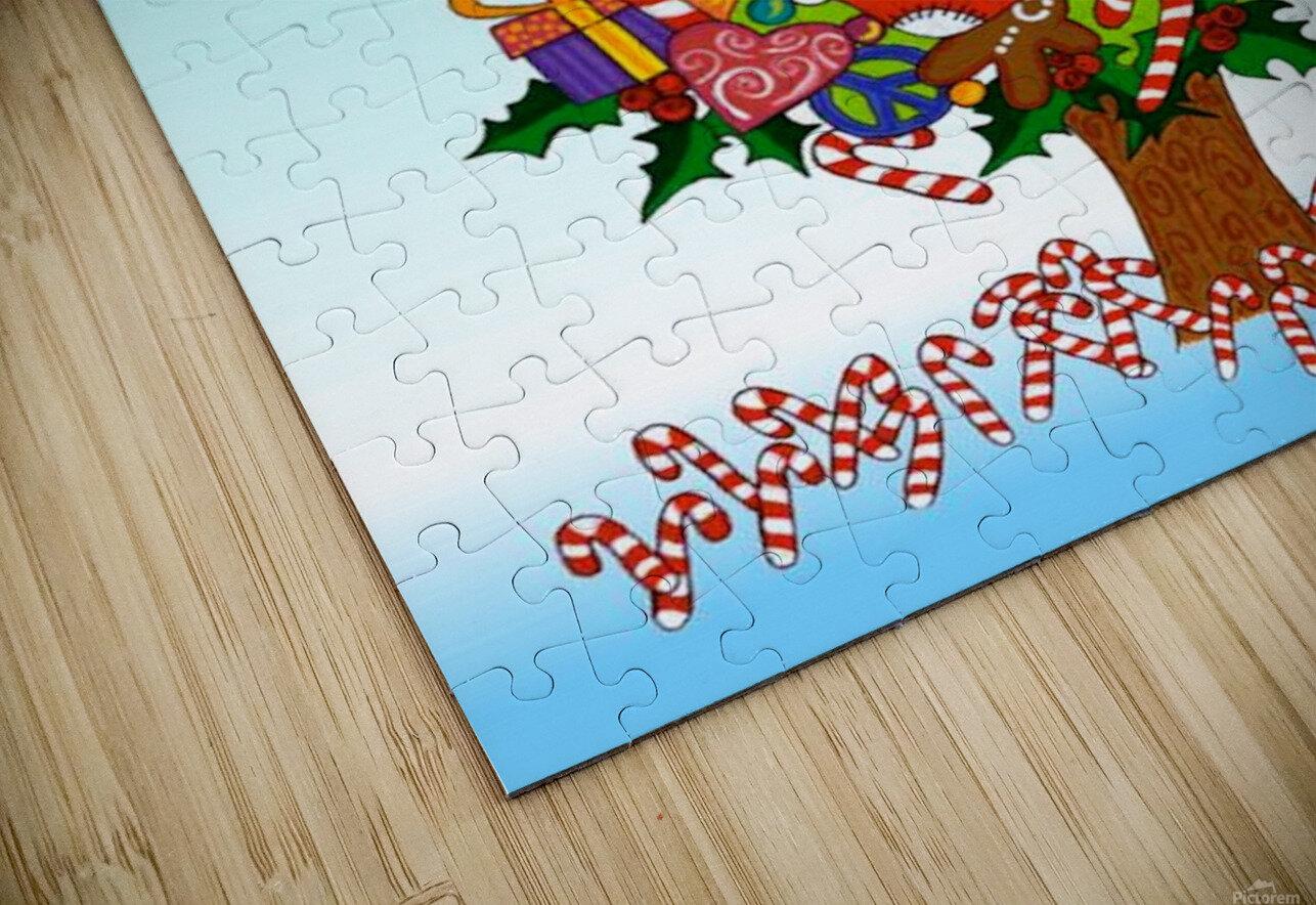Joy of Christmas HD Sublimation Metal print