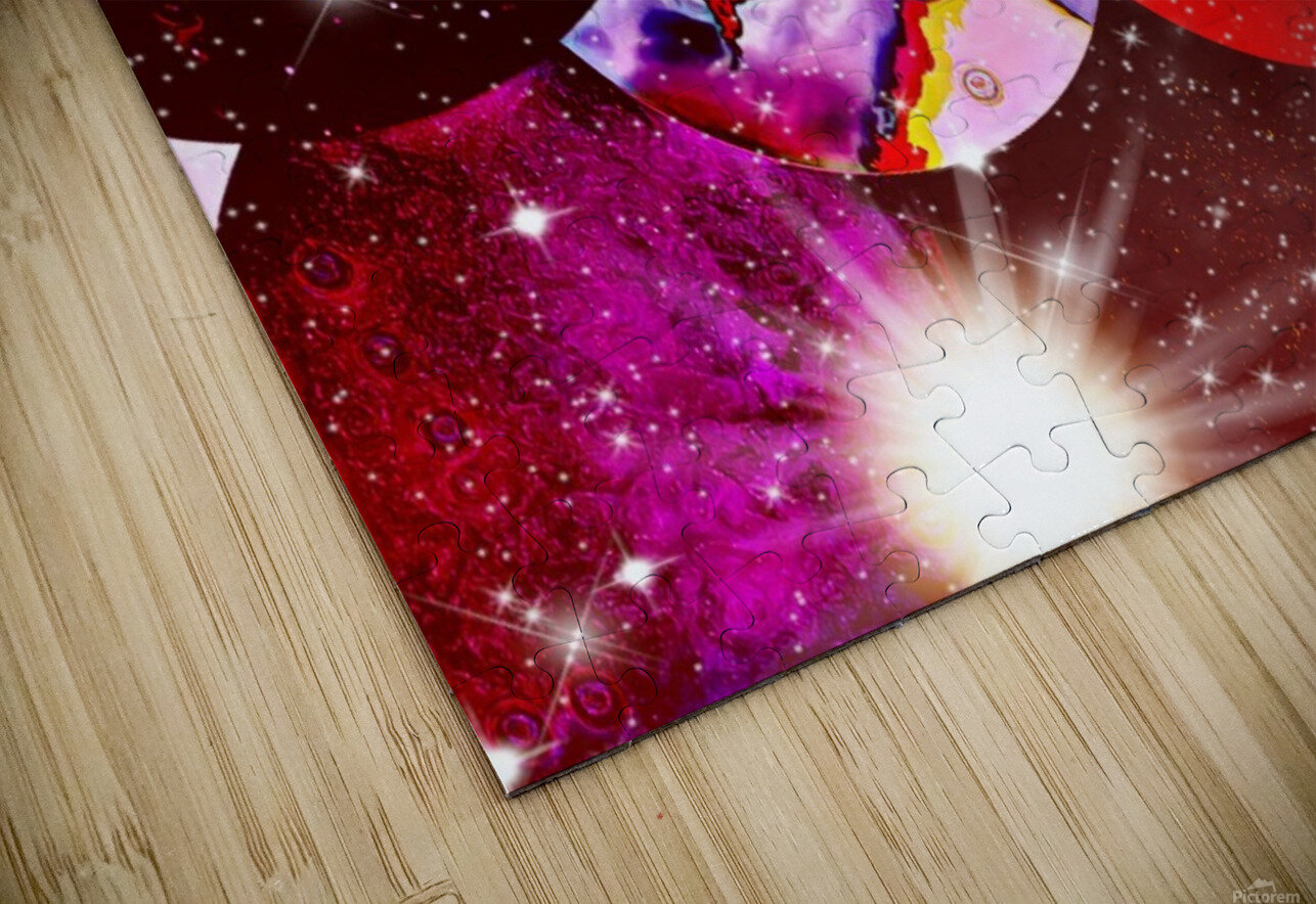 The Imaginary Planets Series 5 HD Sublimation Metal print