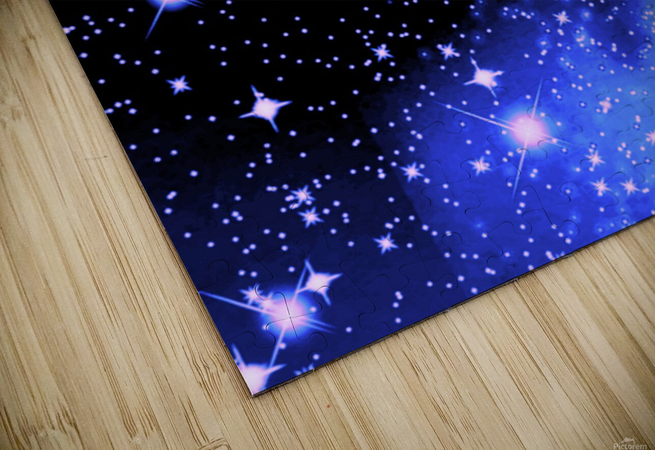 The Blue Realm HD Sublimation Metal print