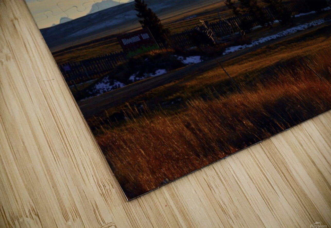 Bloomin HD Sublimation Metal print