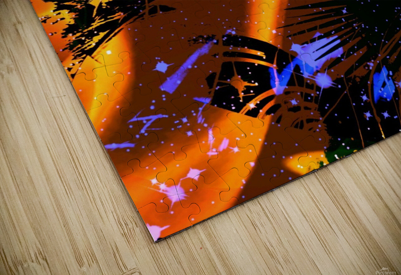 The Imaginary Planets Series 6 HD Sublimation Metal print