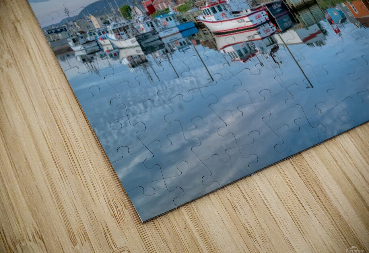In The Harbour HD Sublimation Metal print