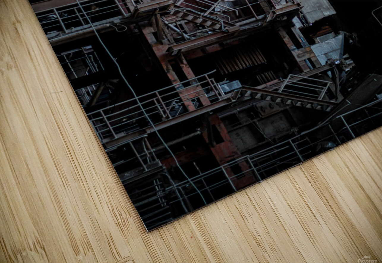 Abandoned Blade Runner Factory HD Sublimation Metal print
