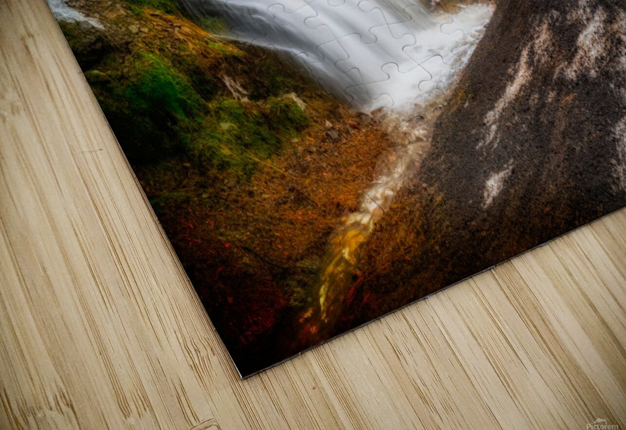 Niagara on the French HD Sublimation Metal print