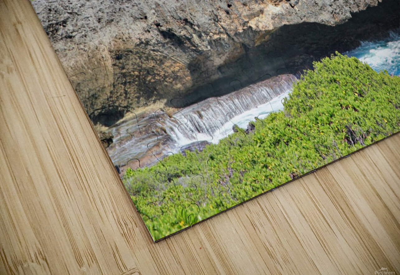 Rocky Ledge HD Sublimation Metal print