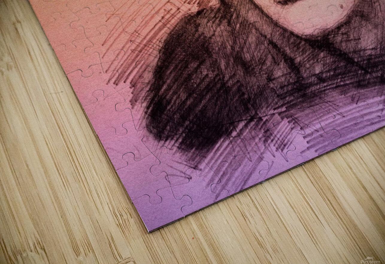 Sinéad OConnor HD Sublimation Metal print