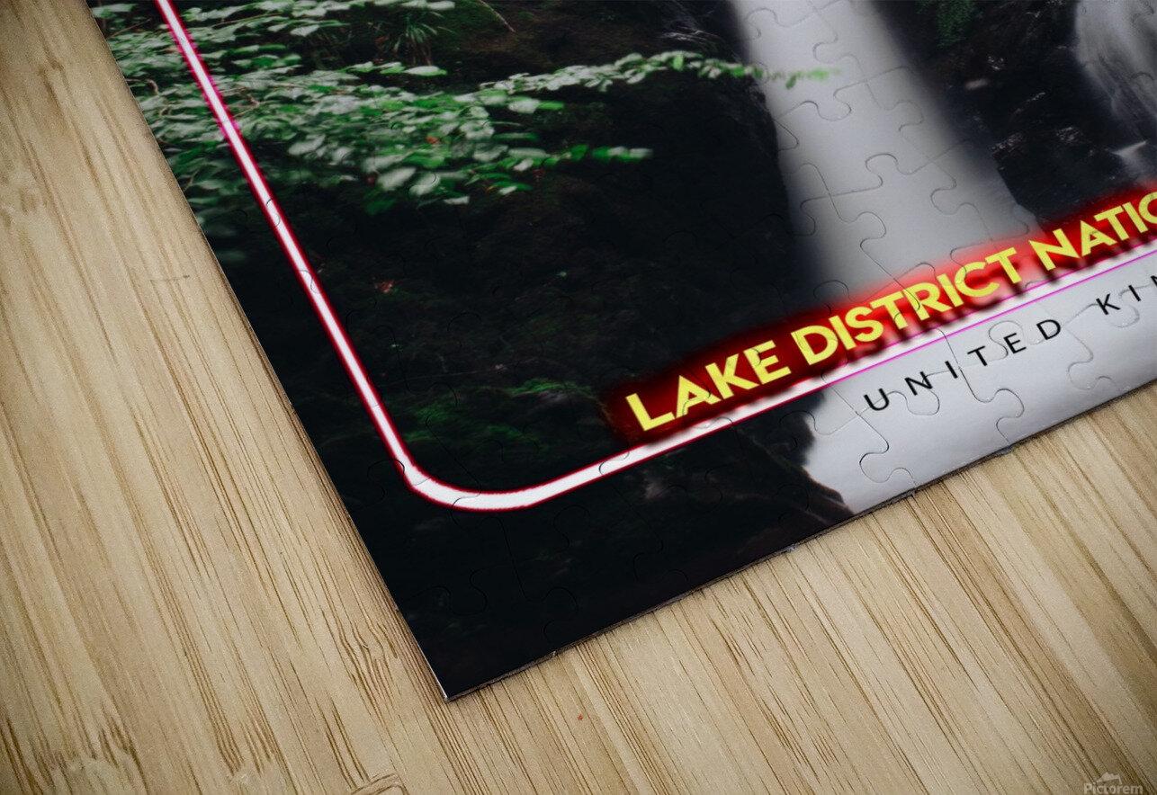 Lake District National Park, United Kingdom HD Sublimation Metal print