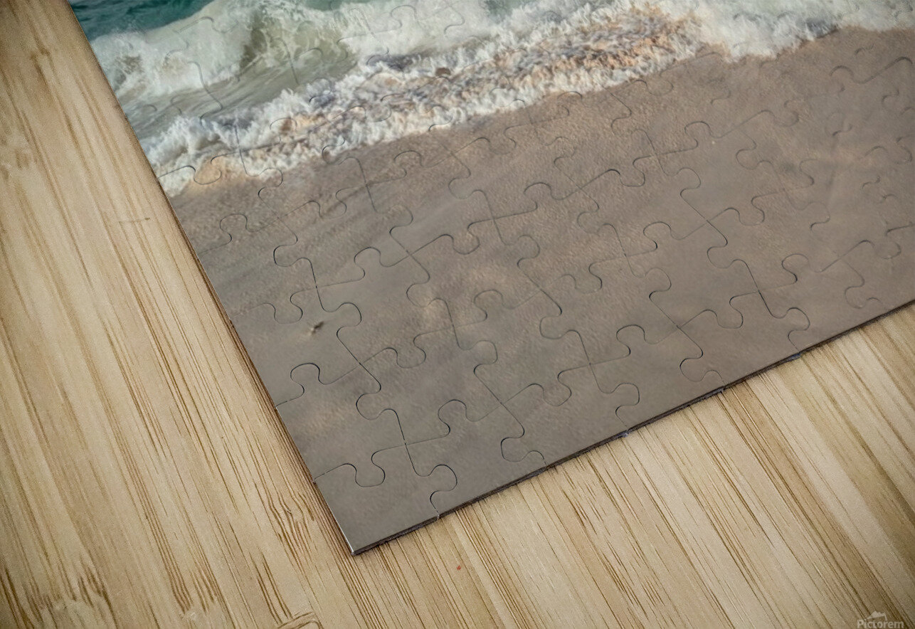 Eleuthera Endless Waves HD Sublimation Metal print