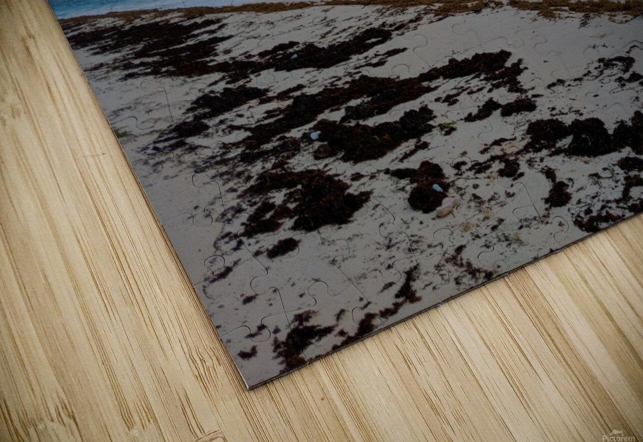 Eleuthera Stormy Horizon HD Sublimation Metal print