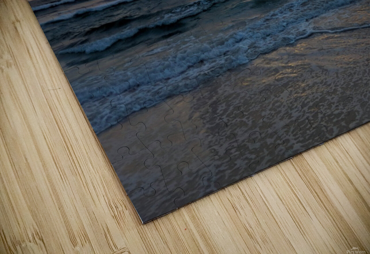 Eleuthera Waves HD Sublimation Metal print