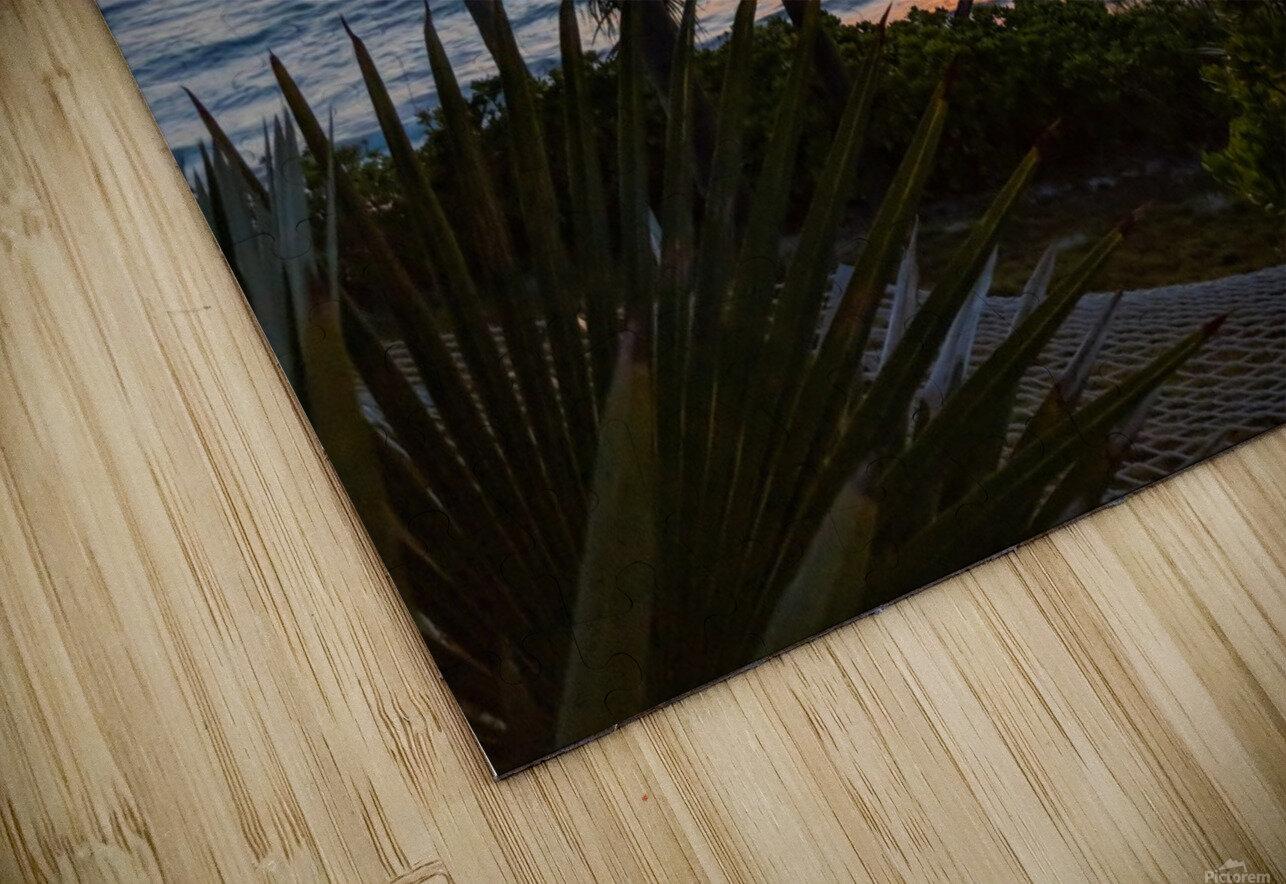 Eleuthera Sunrise on the Hammock HD Sublimation Metal print