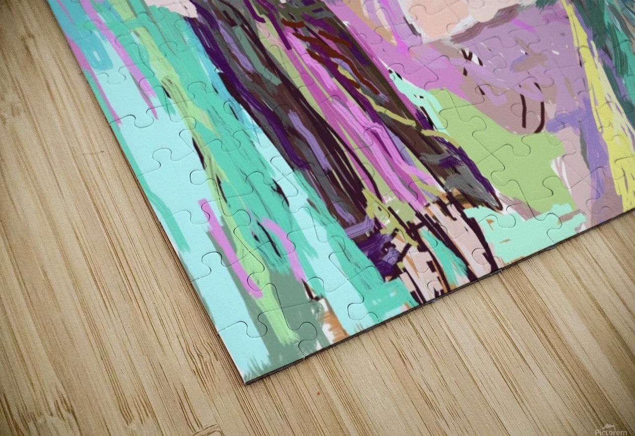 portrait HD Sublimation Metal print