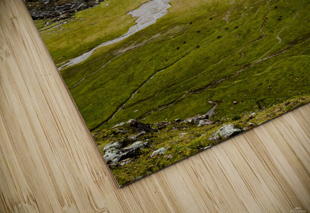 Cusco Valley HD Sublimation Metal print